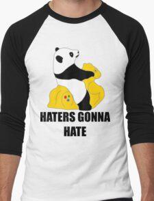 Haters Gonna Hate: Panda Men's Baseball ¾ T-Shirt