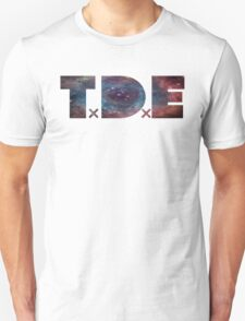 TDE TOP DAWG BLUE PURPLE RED NEBULA T-Shirt