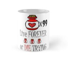 99 potions: live forever or die trying Mug