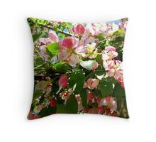 Crabapple (by general consensus) Throw Pillow