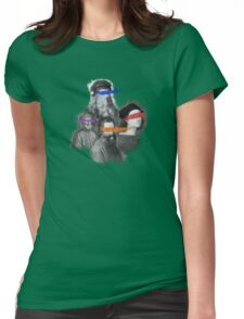 mutant painters Womens Fitted T-Shirt