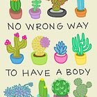 No Wrong Way to Have a Body by Rachele Cateyes