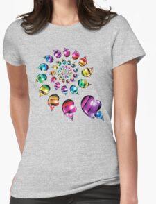 Rainbow Heart Wheel T-Shirt