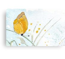 Butterfly simplicity Canvas Print