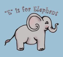 E is for Elephant Kids Clothes