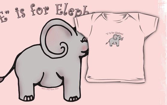 E is for Elephant by Amy-Elyse Neer