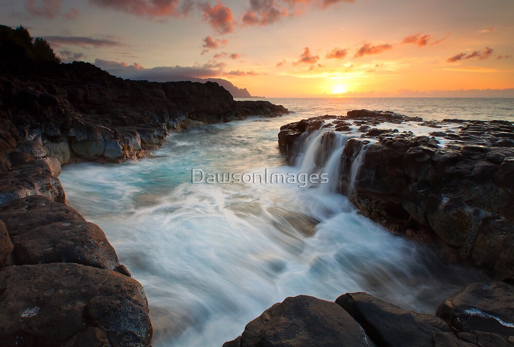 Na Pali Sunset by DawsonImages
