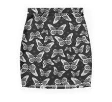 Dark Butterflies Mini Skirt