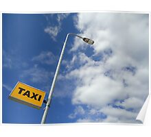Taxi to the clouds Poster