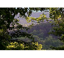 Morning Light in the Mountains Photographic Print