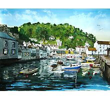 """Evening on Polperro"" - Cornwall Photographic Print"