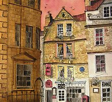 Sally Lunn's Bath Bun Shop, Lilliput Alley, Bath by Timothy Smith