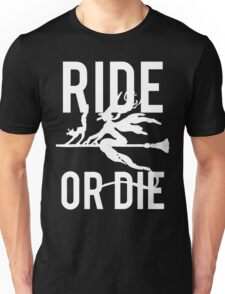 Ride or Die Witch Halloween Unisex T-Shirt