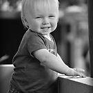 Cute Blonde by Luke Griffin