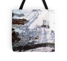 Rusty Snowstorm Tote Bag