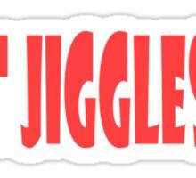 It's Simple, If It Jiggles Sticker