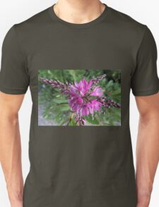 "Symmetry of Pink Flowers - Hebe ""Great Orme"" Unisex T-Shirt"
