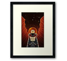 I Am Completely Alone Here Framed Print