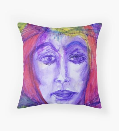 Rope, Barbed Wire and Acceptance Throw Pillow