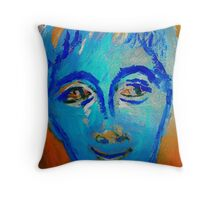 Woke Up Laughing Throw Pillow
