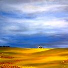 """Landscape with windmill"" by Gabriella Nilsson"