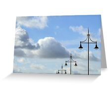 Heaven's lamposts Greeting Card