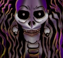 Dredd Skull  Sticker