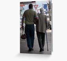 Lets go out for lunch Mum Greeting Card