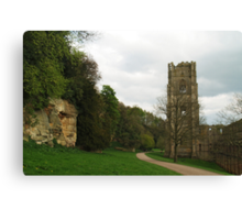 Abbot Huby's Tower 2 Canvas Print