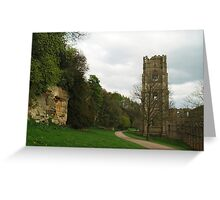 Abbot Huby's Tower 2 Greeting Card
