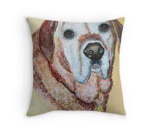 Golden Labrador Retriever Throw Pillow