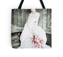 Autumn Bride Punked up Tote Bag