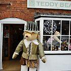 Tudor Teddy Outside his Shop by Steve