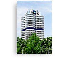 BMW Building Munich Germany Canvas Print