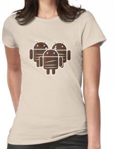 Sankara Droids (No Text) Womens Fitted T-Shirt