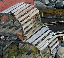 Lobster Traps for Sale ... Nova Scotia by Anne Sidnell
