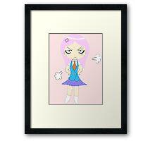 Cute Angry Chibi Framed Print