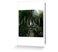 Doorway to Lothlorien Greeting Card
