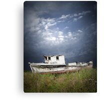 Abandoned Boat in Washington State Canvas Print