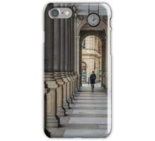 Mill colonnade in Karlovy Vary iPhone Case/Skin