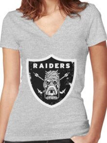 Tusken Raiders Women's Fitted V-Neck T-Shirt
