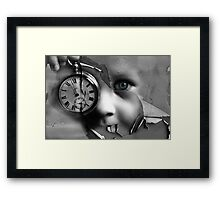 When Time Was A Child Framed Print