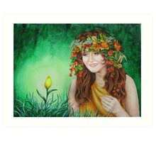 Mother-Earth Art Print