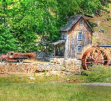 old mill on sixes by david allen