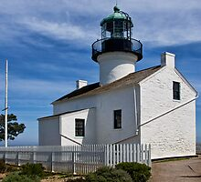Photo of the Lighthouse at Cabrillo National Monument by Randall Nyhof