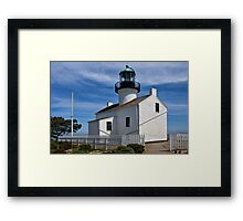 Photo of the Lighthouse at Cabrillo National Monument Framed Print