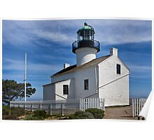 Photo of the Lighthouse at Cabrillo National Monument Poster