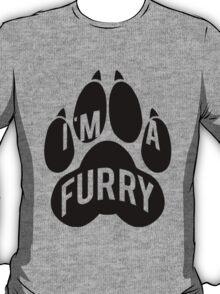 I'm a Furry -black- T-Shirt