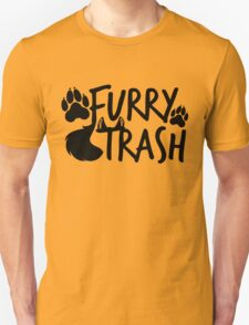 Furry Trash -black- T-Shirt