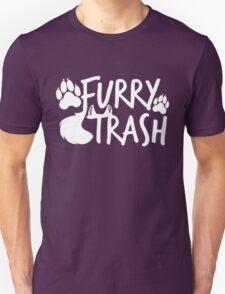 Furry Trash -white- T-Shirt